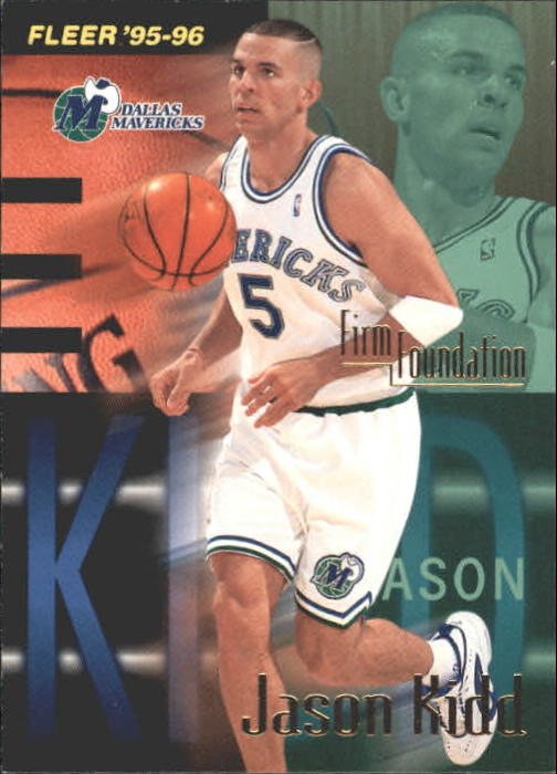 1995-96 Fleer #325 Jason Kidd FF