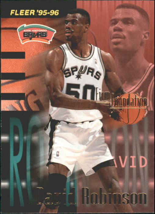 1995-96 Fleer #343 David Robinson FF