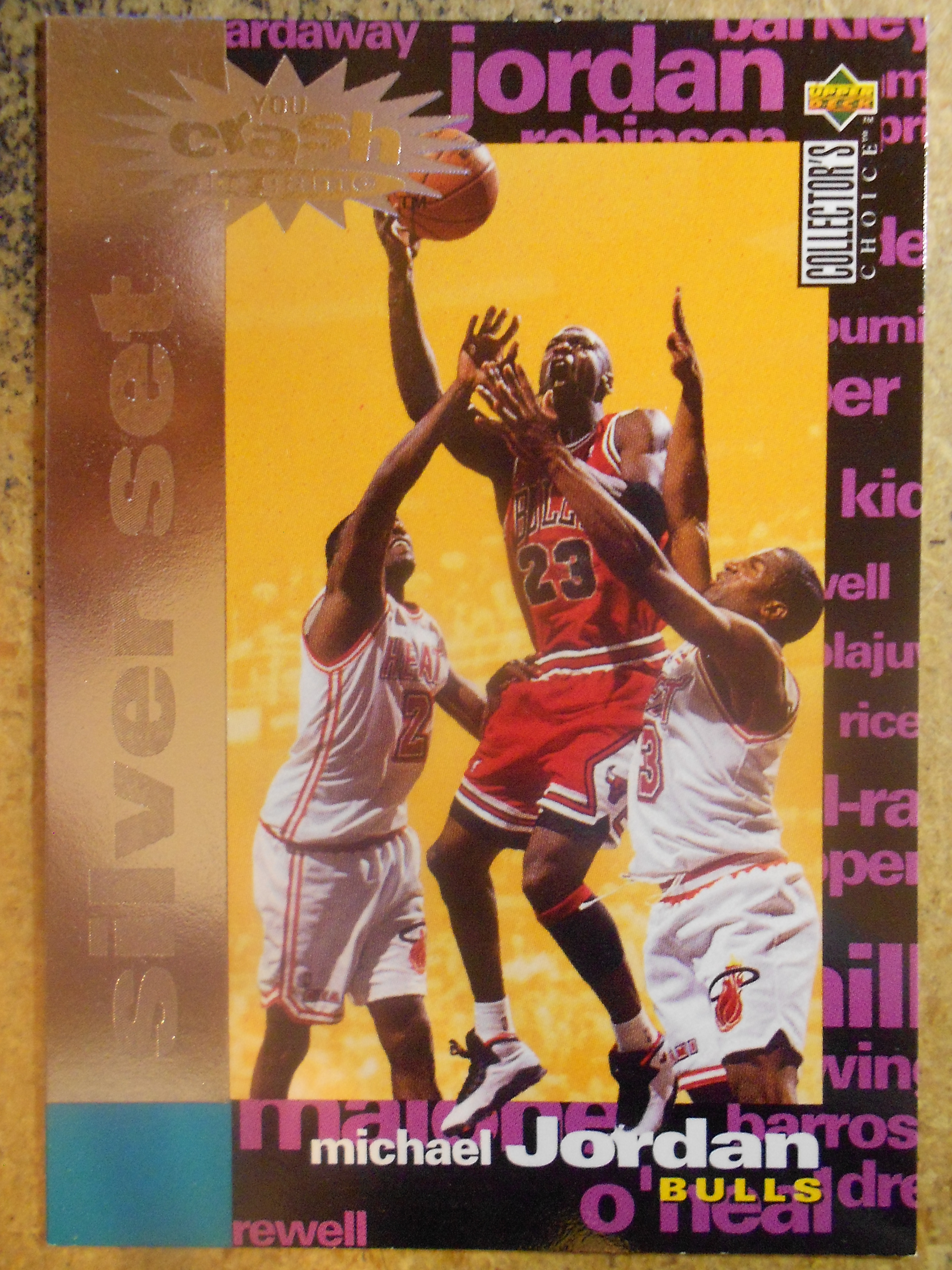 1995-96 Collector's Choice Crash the Game Scoring Silver Redemption #C1 Michael Jordan