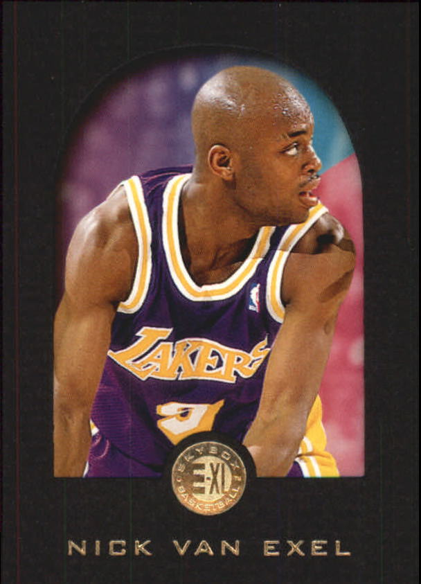 1995-96 E-XL #41 Nick Van Exel