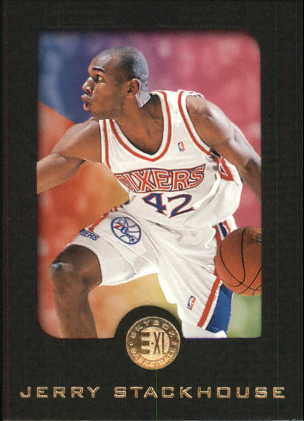 1995-96 E-XL #62 Jerry Stackhouse RC