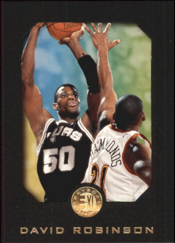 1995-96 E-XL #75 David Robinson