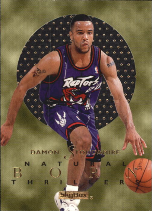 1995-96 E-XL Natural Born Thrillers #10 Damon Stoudamire