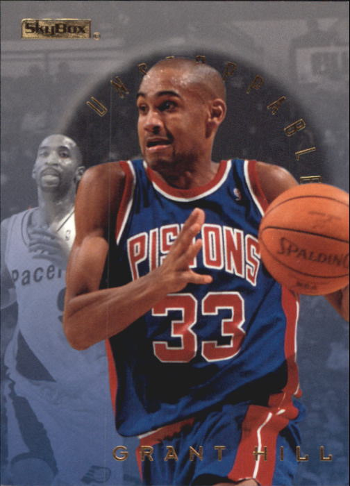 1995-96 E-XL Unstoppable #7 Grant Hill