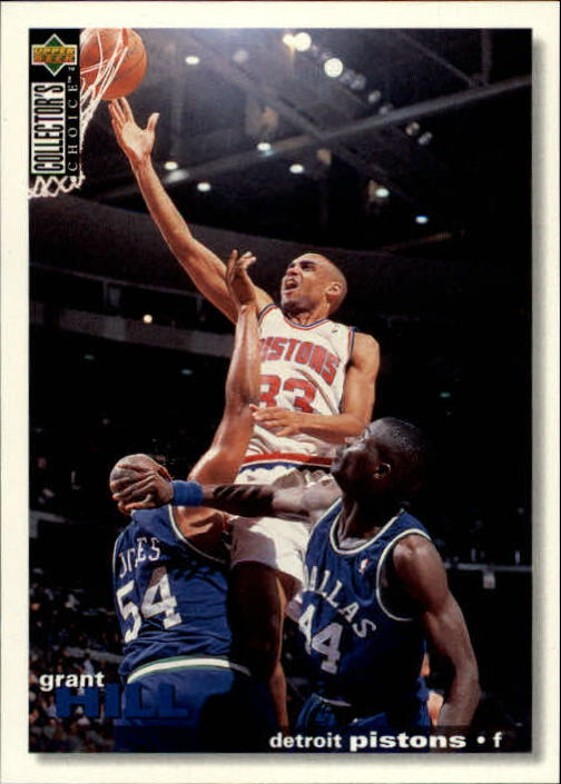 1995-96 Collector's Choice #33 Grant Hill