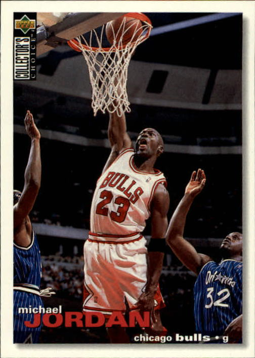 1995-96 Collector's Choice #45 Michael Jordan