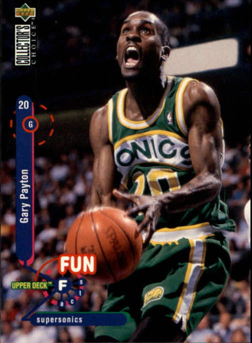 1995-96 Collector's Choice #190 Gary Payton FF