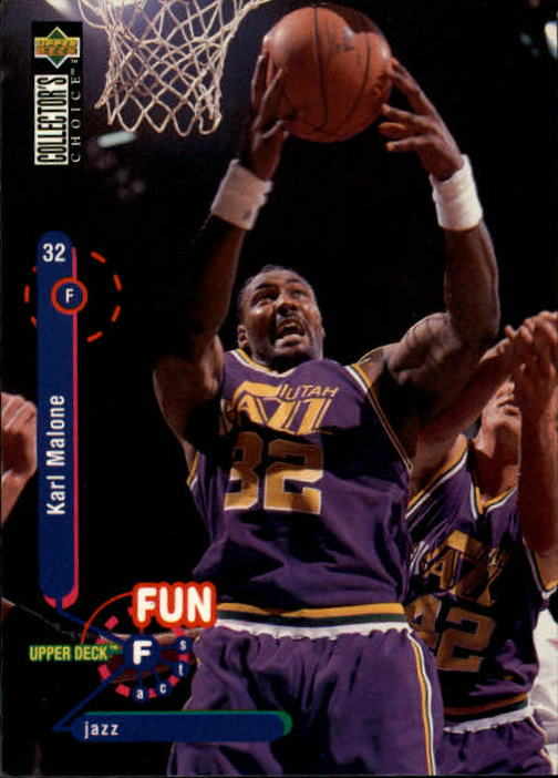 1995-96 Collector's Choice #192 Karl Malone FF