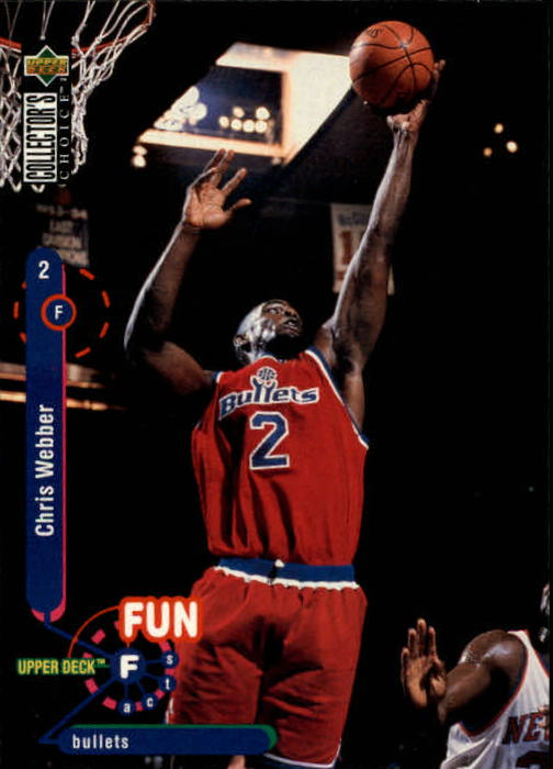1995-96 Collector's Choice #194 Chris Webber FF