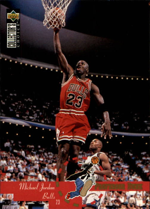 1995-96 Collector's Choice #195 Michael Jordan PD
