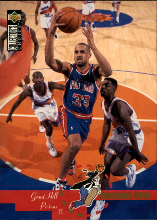 1995-96 Collector's Choice #198 Grant Hill PD