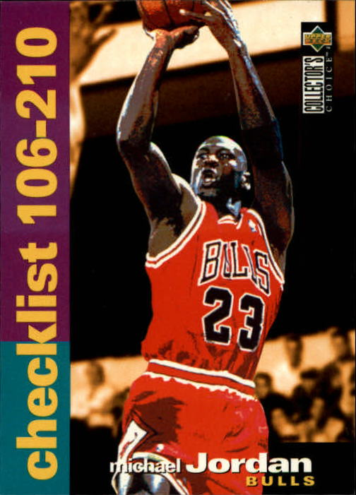 1995-96 Collector's Choice #210 Michael Jordan CL