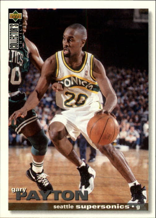 1995-96 Collector's Choice #225 Gary Payton