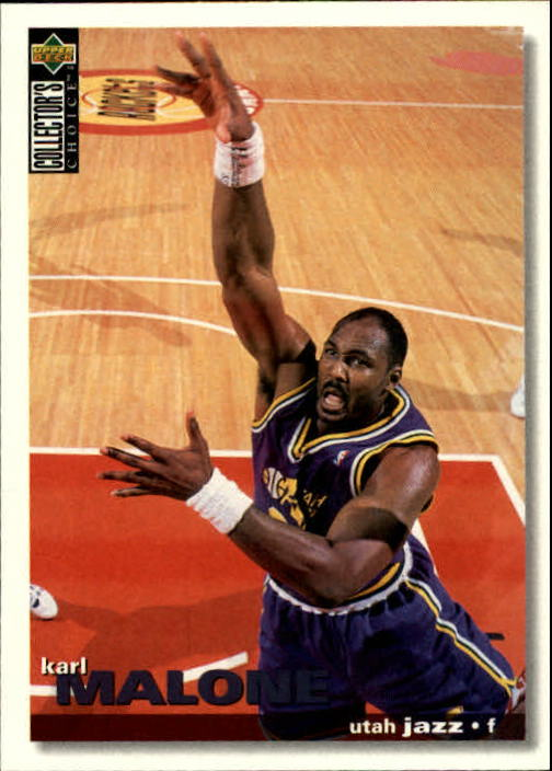 1995-96 Collector's Choice #235 Karl Malone