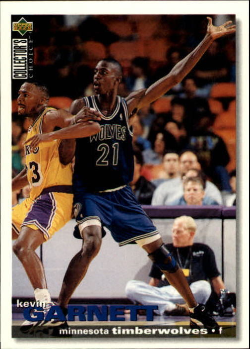 1995-96 Collector's Choice #275 Kevin Garnett RC