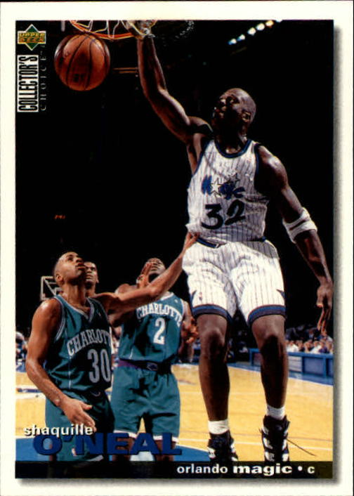 1995-96 Collector's Choice #286 Shaquille O'Neal