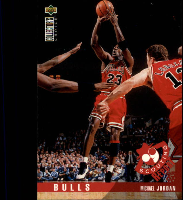 1995-96 Collector's Choice #324 Michael Jordan SR