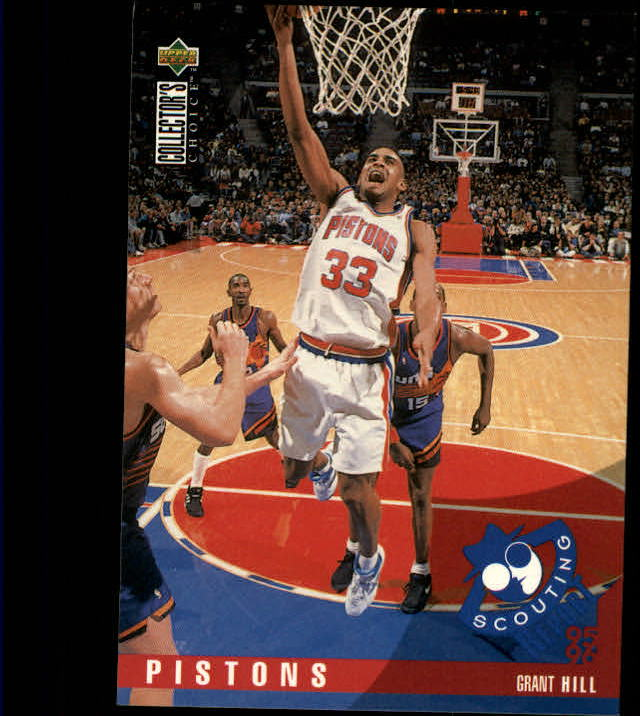 1995-96 Collector's Choice #328 Grant Hill SR
