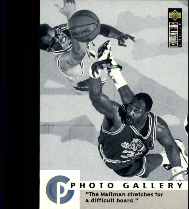 1995-96 Collector's Choice #402 Karl Malone PG