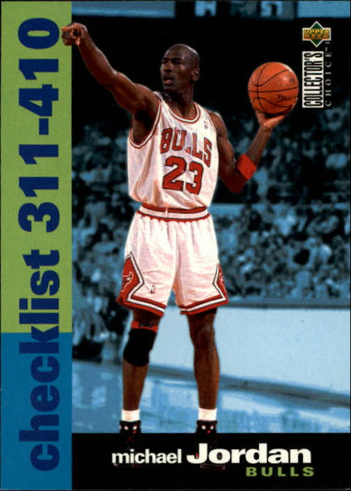 1995-96 Collector's Choice #410 Michael Jordan CL