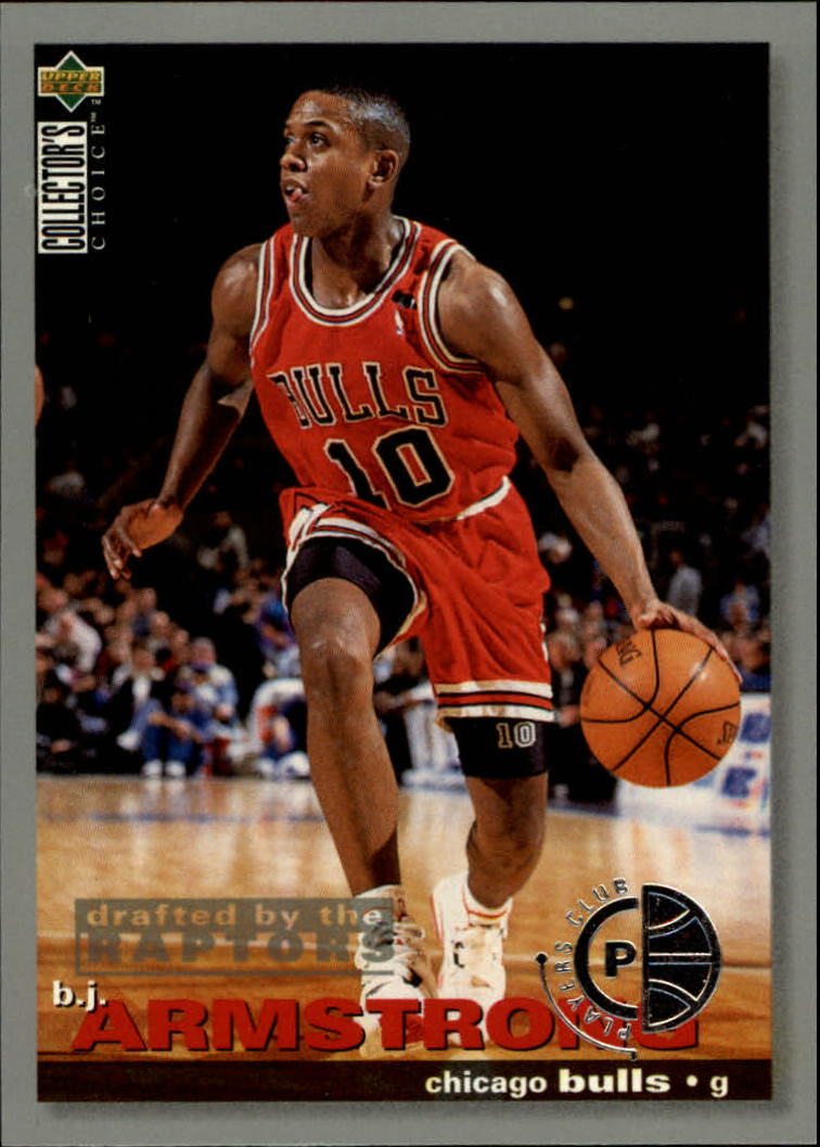 1995-96 Collector's Choice Player's Club #19 B.J. Armstrong