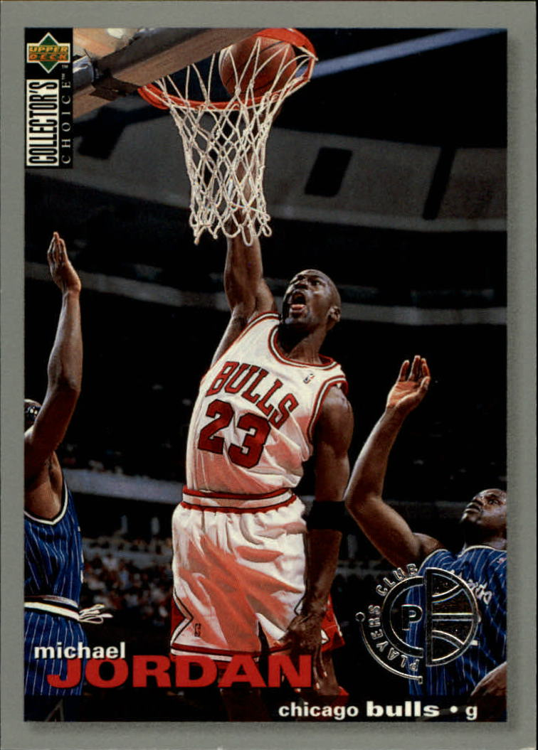 1995-96 Collector's Choice Player's Club #45 Michael Jordan