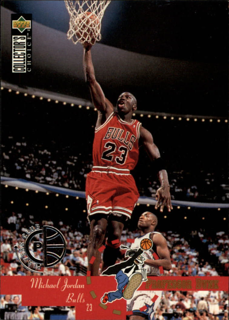 1995-96 Collector's Choice Player's Club #195 Michael Jordan PD front image
