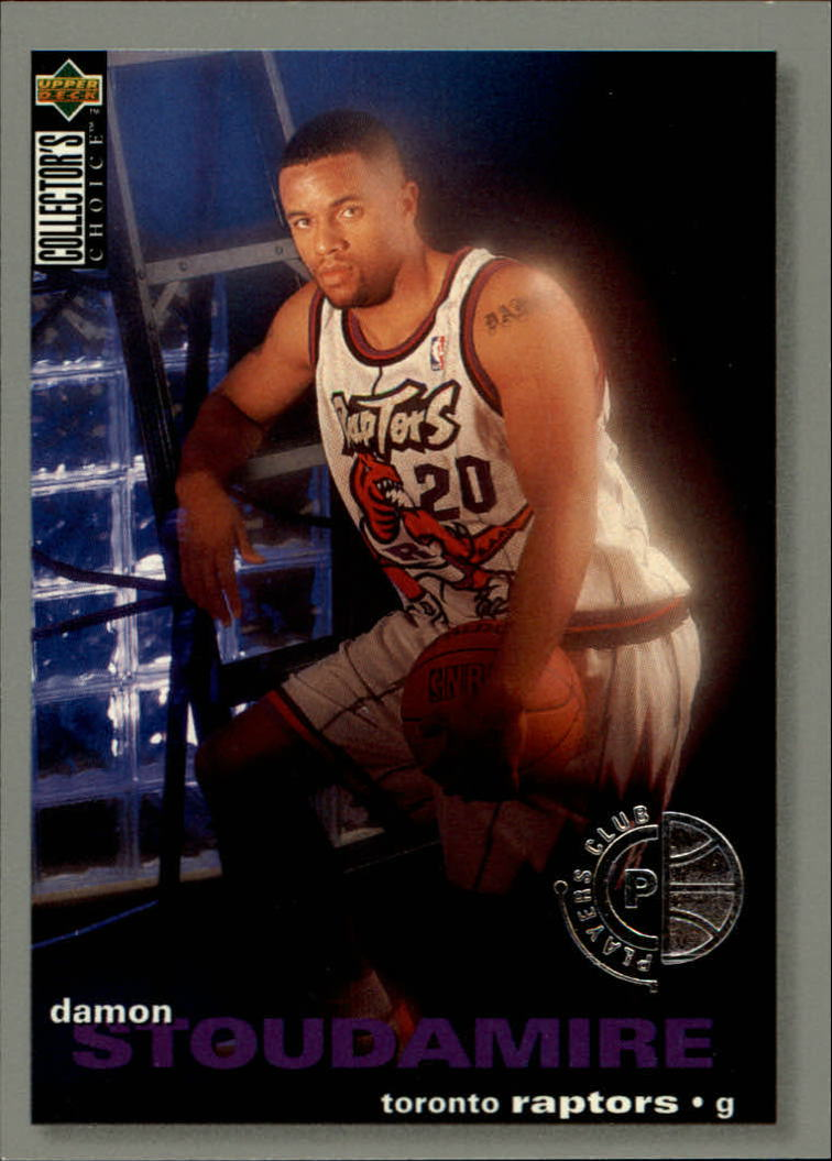 1995-96 Collector's Choice Player's Club #276 Damon Stoudamire