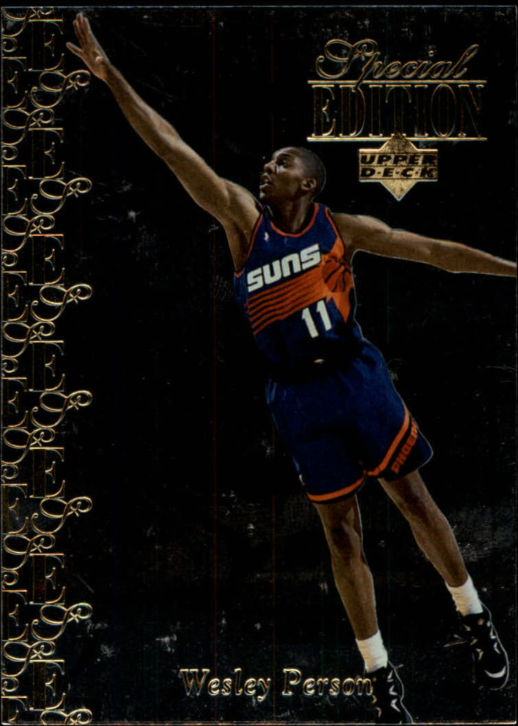 1995-96 Upper Deck Special Edition Gold #70 Wesley Person
