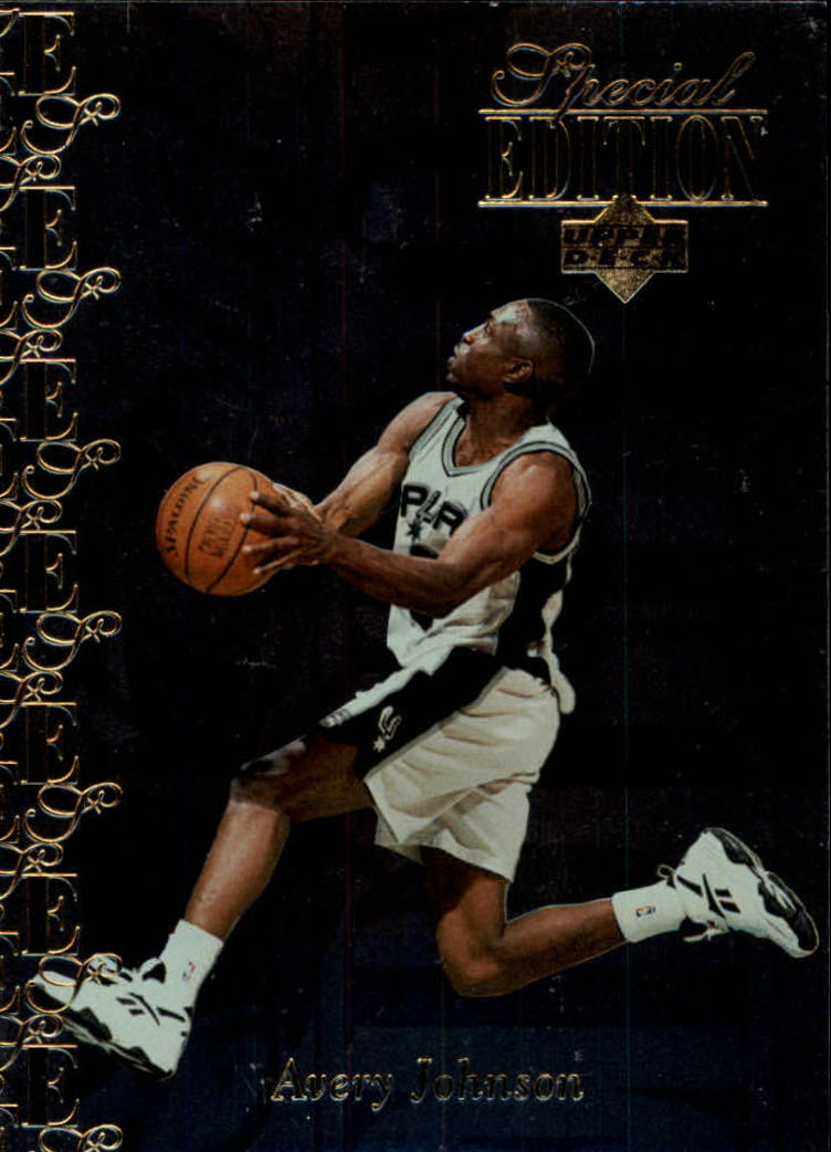 1995-96 Upper Deck Special Edition Gold #80 Avery Johnson