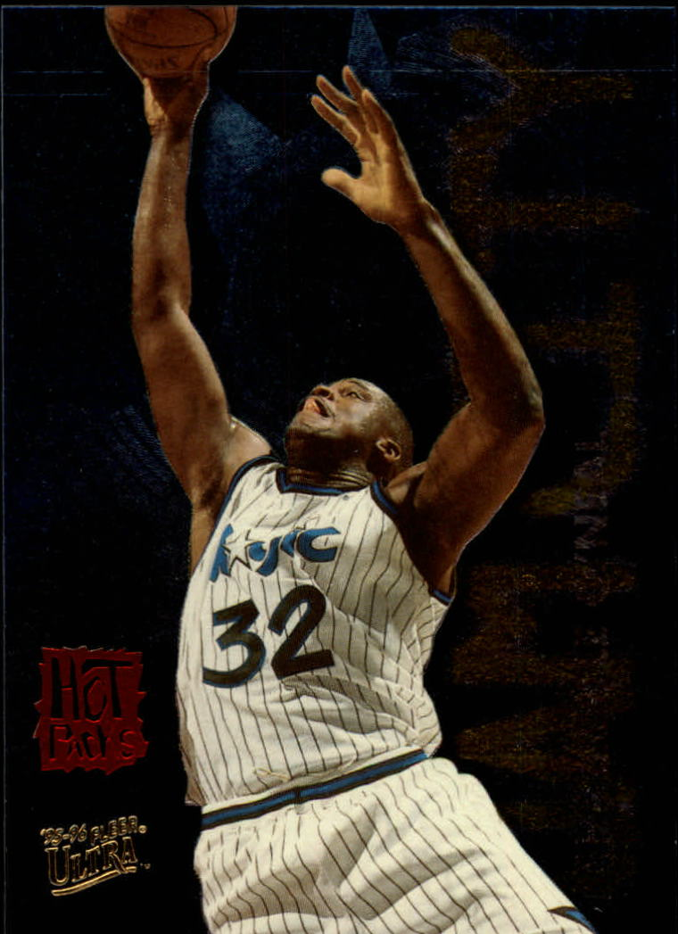 1995-96 Ultra Jam City Hot Pack #9 Shaquille O'Neal