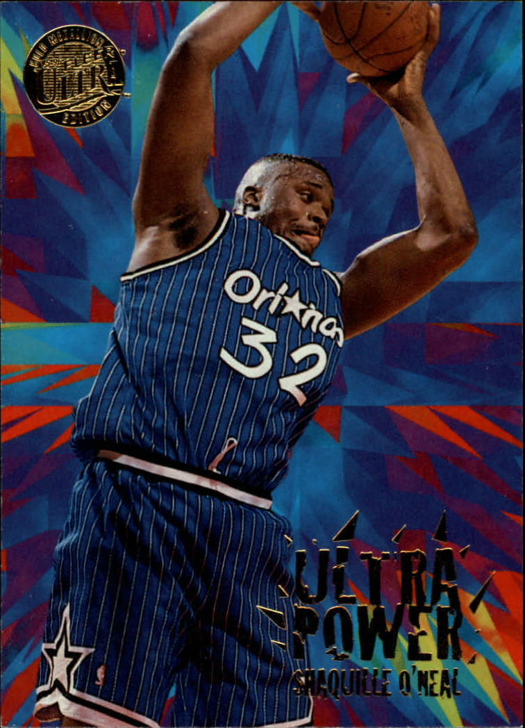 1995-96 Ultra Power Gold Medallion #9 Shaquille O'Neal