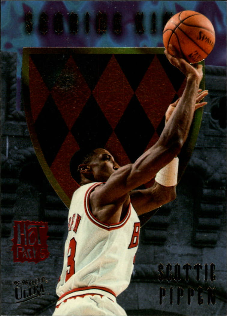 1995-96 Ultra Scoring Kings Hot Pack #9 Scottie Pippen