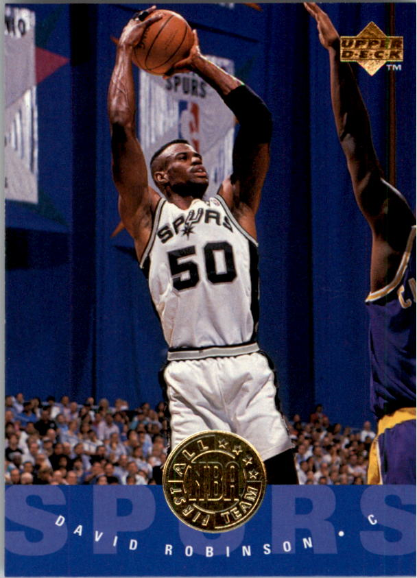 1995-96 Upper Deck #168 David Robinson AN