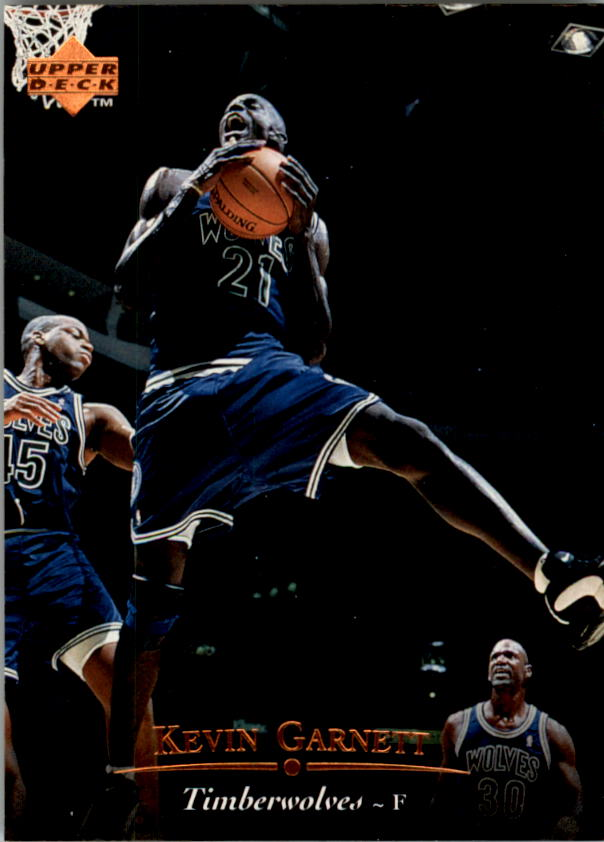 1995-96 Upper Deck #273 Kevin Garnett RC