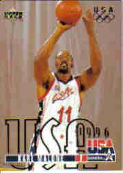 1995-96 Upper Deck #318 Karl Malone USA