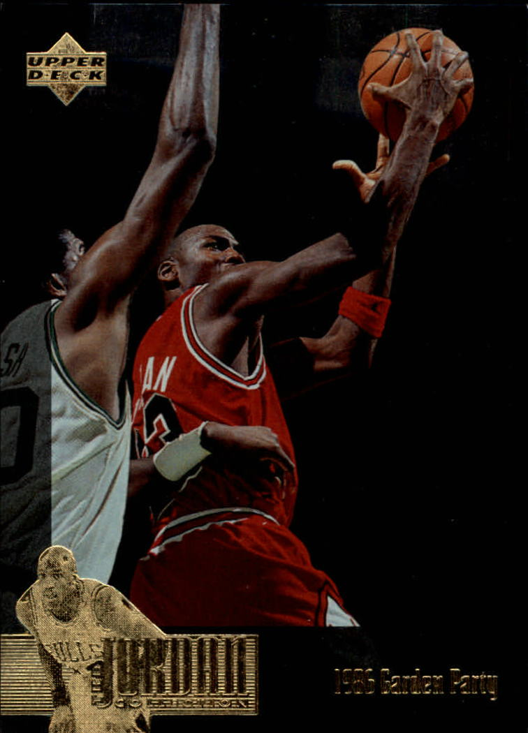 1995-96 Upper Deck Jordan Collection #JC13 Michael Jordan/1986 Garden Party