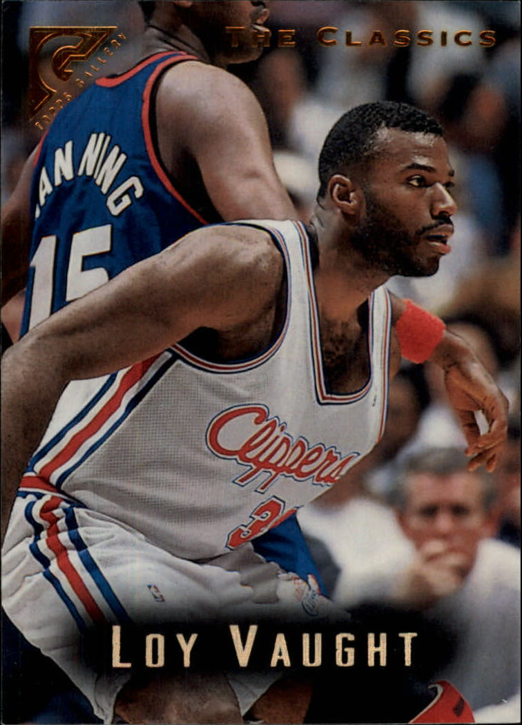 1995 96 Topps Gallery Los Angeles Clippers Basketball Card 77 Loy