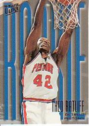 1995-96 Ultra #283 Theo Ratliff RC