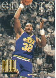 1995-96 Ultra #323 Karl Malone ENC