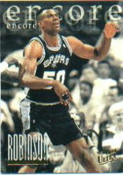 1995-96 Ultra #335 David Robinson ENC