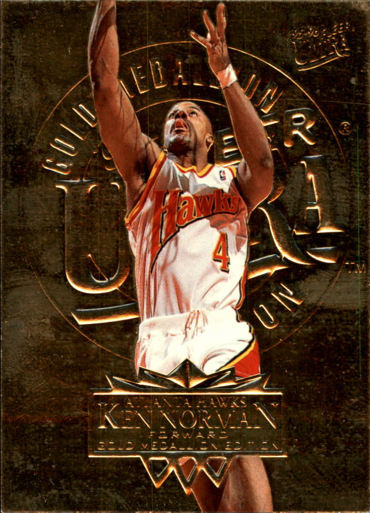 1995-96 Ultra Gold Medallion #6 Ken Norman