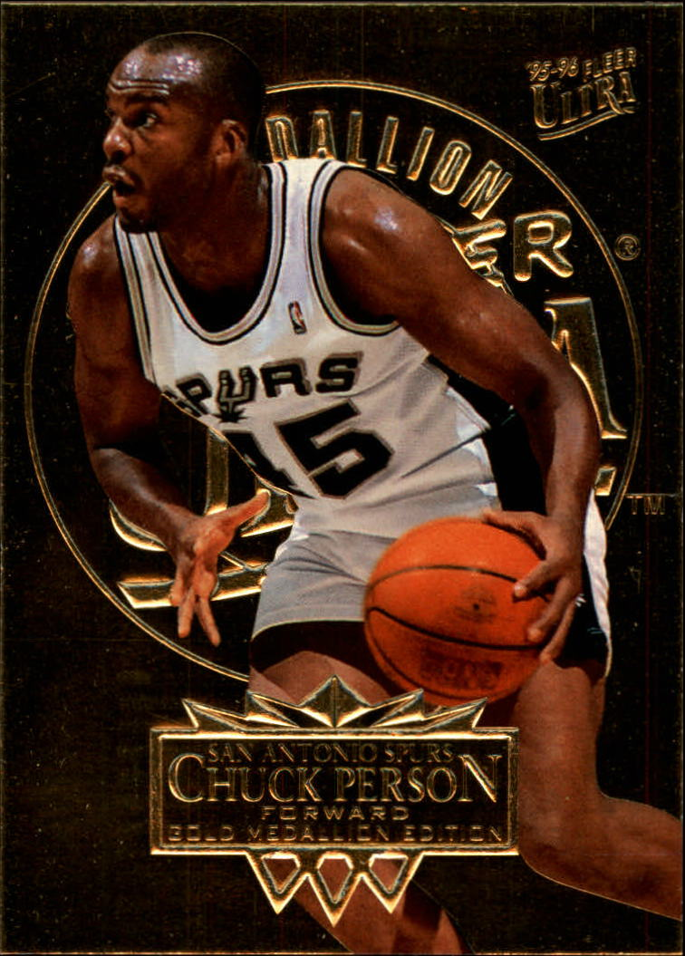 1995-96 Ultra Gold Medallion #164 Chuck Person