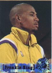 1995-96 Stadium Club #338 Frankie King RC