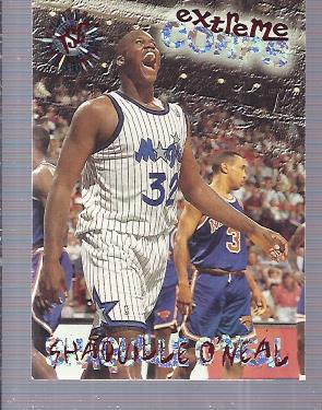1995-96 Stadium Club #119R Shaquille O'Neal EC Red