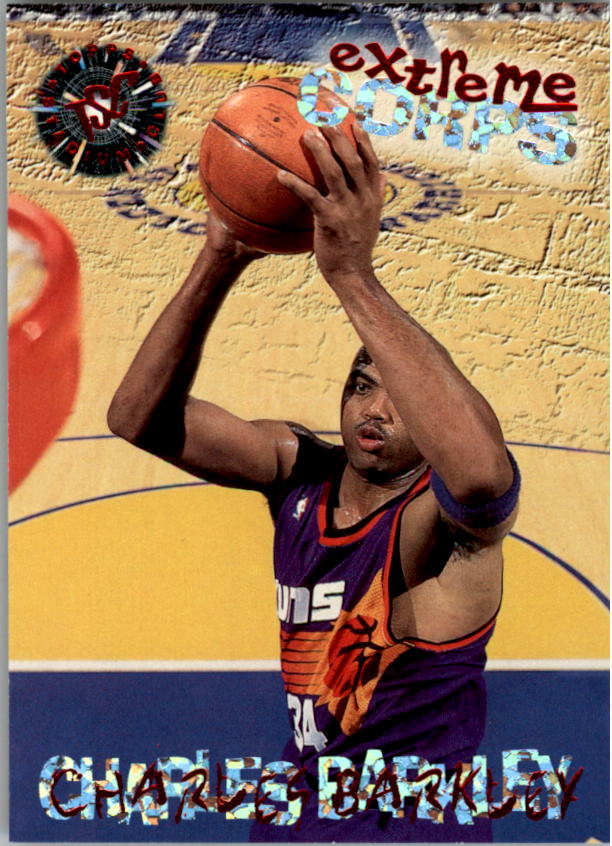 1995-96 Stadium Club #121R Charles Barkley EC Red