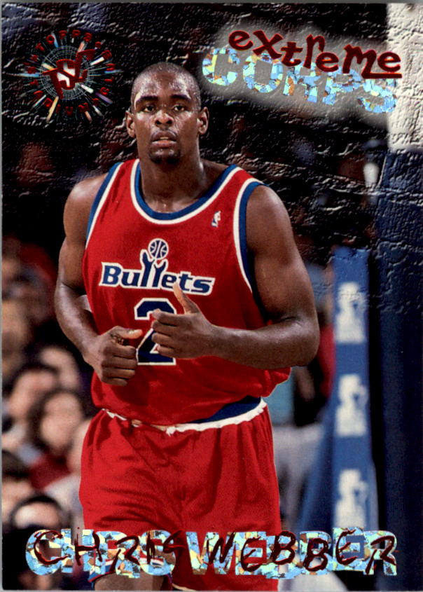 1995-96 Stadium Club #129R Chris Webber EC Red