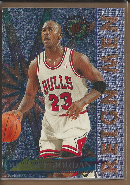 1995-96 Stadium Club Reign Men #RM2 Michael Jordan front image