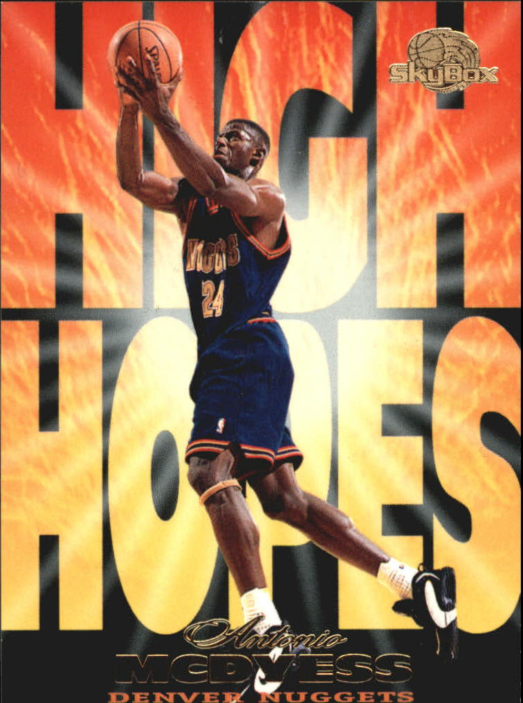 1995-96 SkyBox Premium High Hopes #HH6 Antonio McDyess