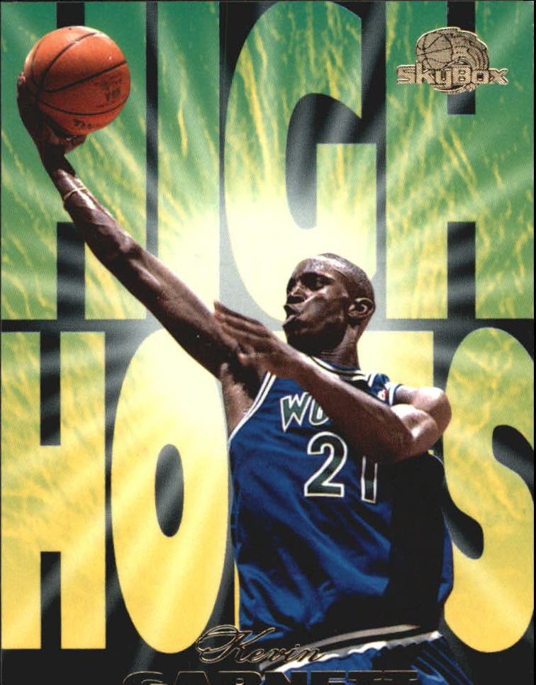 1995-96 SkyBox Premium High Hopes #HH10 Kevin Garnett